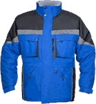 Geaca de iarna pentru barbati MILTON albastra cod:H8147