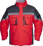 Geaca de iarna pentru barbati MILTON rosie cod:H8146
