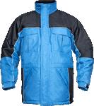 Geaca de lucru iarna RIVER albastra cod:H1062