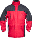 Geaca de lucru iarna RIVER rosie cod:H1058