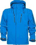 Jacheta de lucru softshell 4TECH albastra cod:H9422