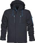Jacheta de lucru softshell 4TECH neagra cod:H9315