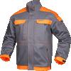 Bluza salopeta Cool Trend gri cu portocaliu cod:H8208