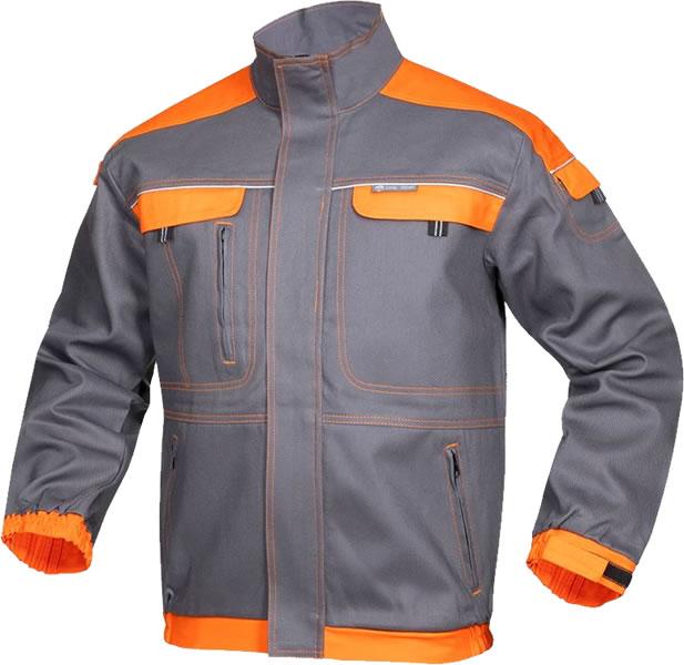 Bluza salopeta Cool Trend gri-portocaliu