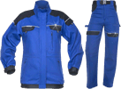 Costum salopeta dama Cool Trend albastru cu negru cod:H8190