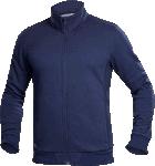 Hanorac barbati fleece fara gluga M007 bleumarin cod:H5941
