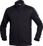 Hanorac barbati fleece fara gluga M007 negru cod:H5940