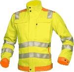 Jacheta de lucru reflectorizanta SIGNAL galben-portocaliu cod:H5900