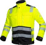 Jacheta de lucru reflectorizanta SIGNAL galben-negru cod:H5930