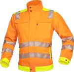 Jacheta de lucru reflectorizanta SIGNAL portocaliu-galben cod:H5903