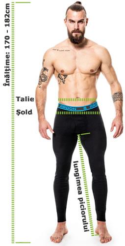 Indicatori marimi pantaloni protectie si lucru